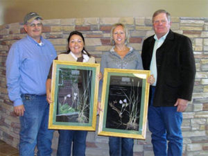 2015 Friend of the Prairie Award, Codi Vallery-Mills and Kindra Gordon