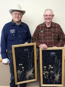 2016 Friend of the Prairie Award, Rod Baumberger and Dave Steffen